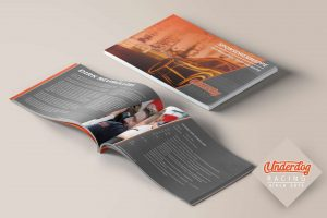 Sponsorenmappe Corporate Design Printdesign Konzeption Underdog Racing