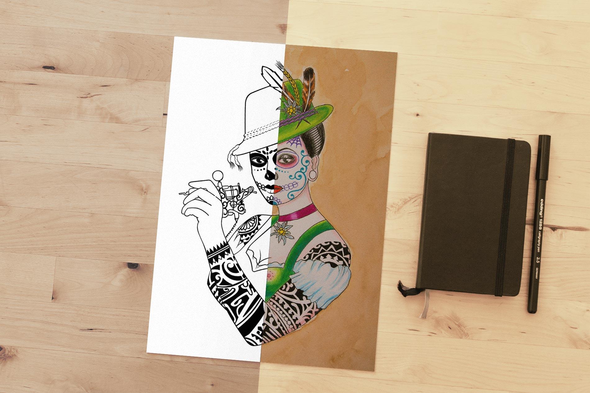 Voodoo Croo Logogestaltung Werbeagentur Rheinland Pfalz