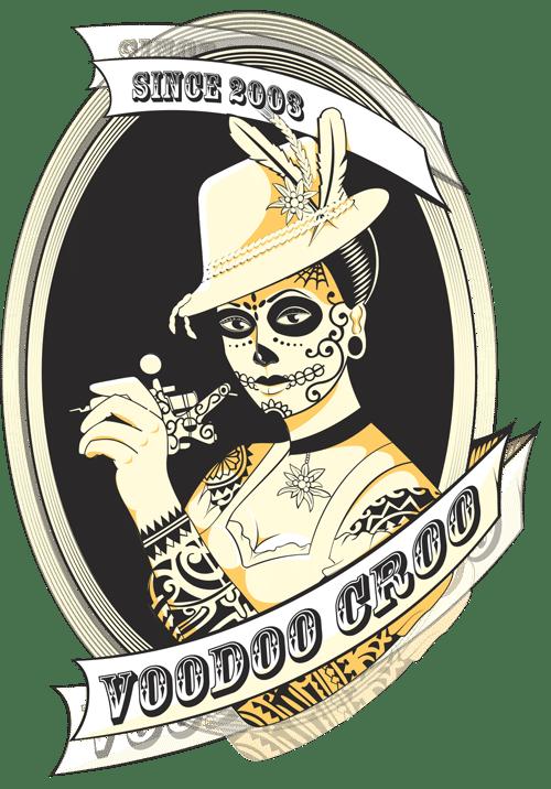 Voodoo Croo Tattoostudio Erding Corporate Design Logo Werbeagentur Rheinland Pfalz