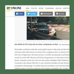 Presseveröffentlichung Lambertz rp-online