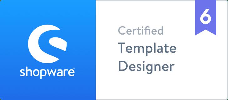 BOTSCHAFT.digital - Shopware 6 Template Designer Shopware Business Partner Agentur Zertifikat
