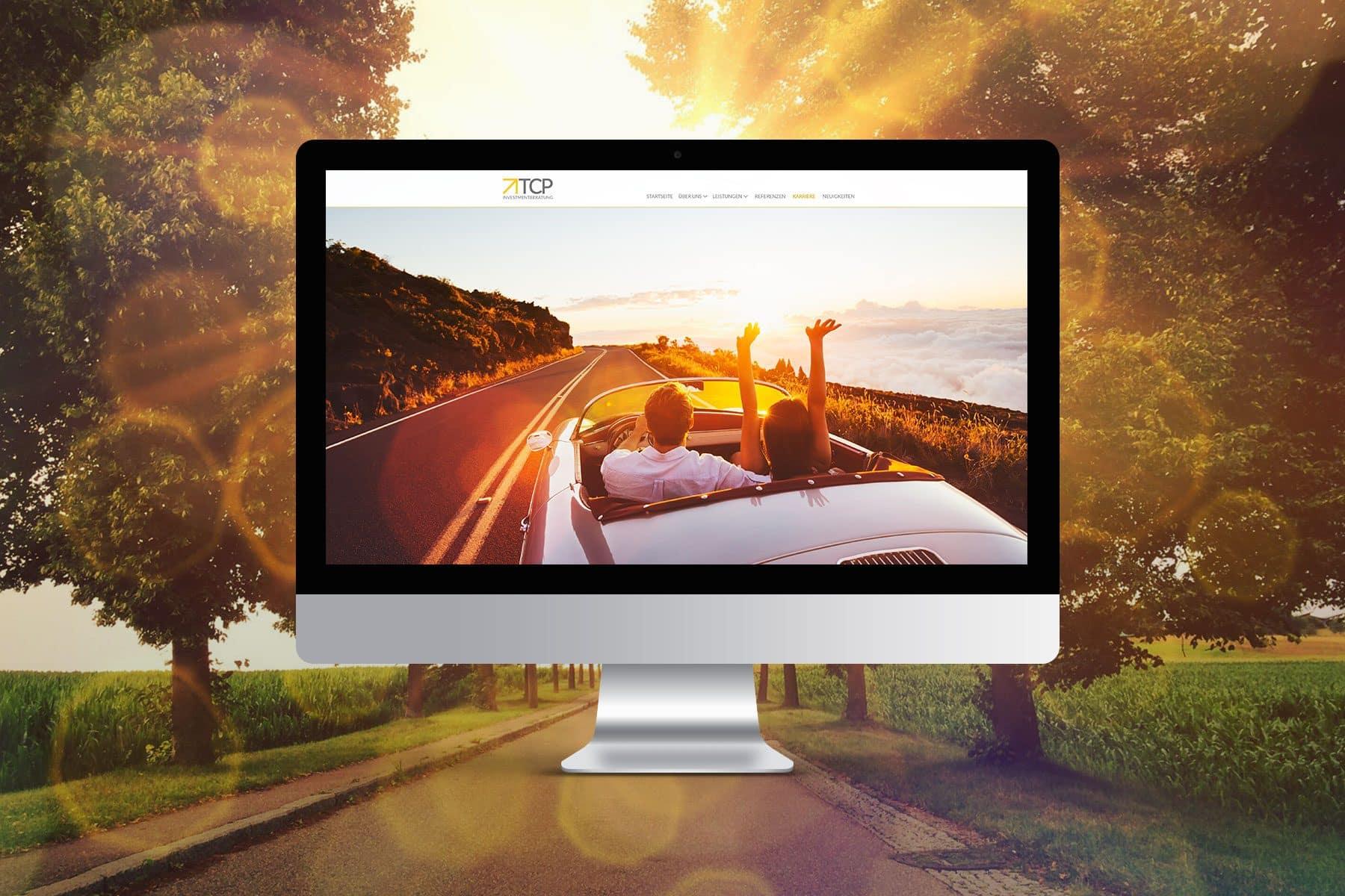 TCP-Investmentberatung Referenz Desktopvorschau - Webdesign Webagentur Rheinland Pfalz