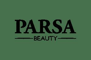 Logo Parsa Haar- und Modeschmuckartikel